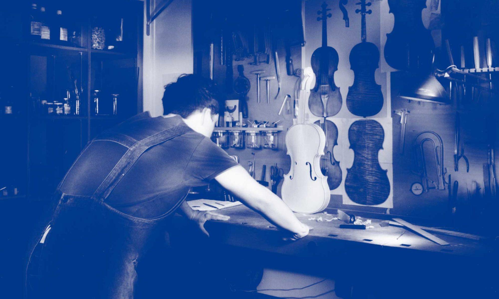 jean-clément grisard, Luthier